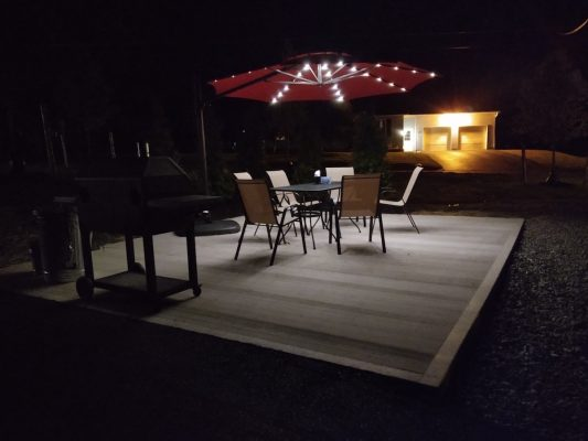 Apartments for Rent Oswego NY-Outdoor seating picture